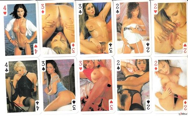 фотографии игральных карт порно