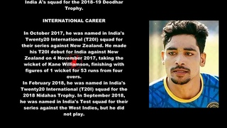 Mohammad Siraj Indian Cricketer Biography With Detail