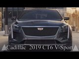 Cadillac CT6 V-Sport the new flagship of luxury