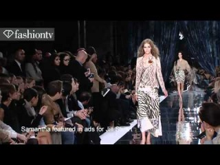Samantha Gradoville Model Talk Spring Summer 2011 | FashionTV - FTV.com
