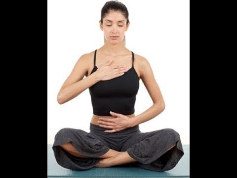 Упражнения на формирование диафрагмального дыхания