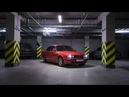 BMW 5 E34 - Red at Night
