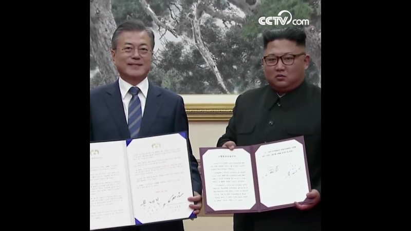 РК и КНДР подписали Пхеньянскую декларацию