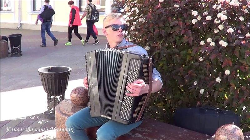 ТАМ, ЗА ТУМАНАМИ! Ваня играет на баяне! Brest! Street! Music!