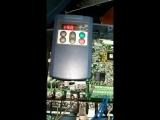 Тест частотного преобразователя Fuji 11 кВт., после ремонта