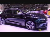 2018 Renault Megane GT - Exterior and Interior Walkaround - 2018 Geneva Motor Show