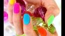 Бархат для дизайна ногтей 24шт песок пудра флок велюр бархат Посылки из Китая Aliexpress