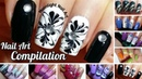 Nail Art Compilation 2 - Drag Dry Marble