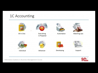 What is AIS? 1C Accounting. Presentation by Artyom Lakhov