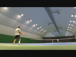 Теннис Клуб Кострома  Первые удары на мягком харде