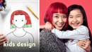 Kids Give Their Parents a Wild New Hairstyle Kids Design HiHo Kids