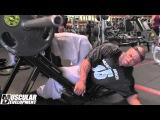 DEXTER JACKSON - тренировка ног за 4 недели до Mr. Olympia 2013
