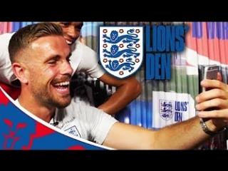 Jordan Henderson Video Calls An England Fan | Lions Den Extra | World Cup 2018