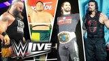 WWE Live Event Bournemouth 2018 Roman Reigns, Rollins, Samoa Joe, Balor, Strowman, Lashly, &amp More