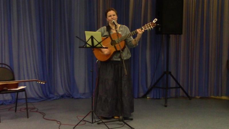 Екатерина Мирвис-Варкалова «Голубей голубого мечта моя…» (стихи и муз. Е. Мирвис-Варкаловой)