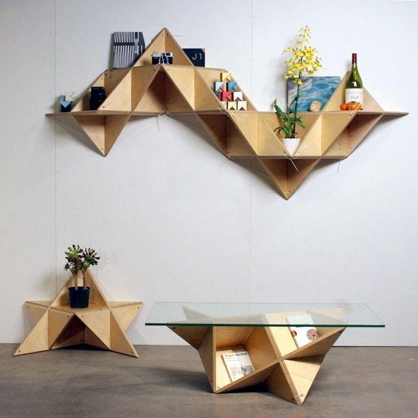 Необычная мебель из простой фанеры