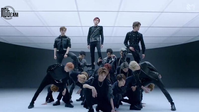 [РУС.СУБ КИРИЛЛИЗАЦИЯ] NCT 2018 - Black on Black MV (Performance Ver.)