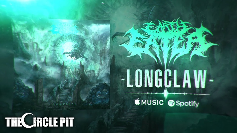 EARTH EATER Longclaw Official Lyric Video Technical Deathcore 2019