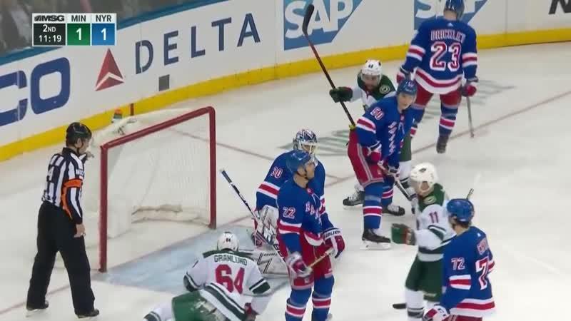 NHL Highlights _ Wild vs. Rangers - Feb 21, 2019