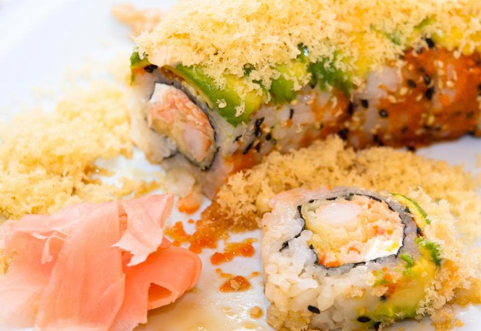 Суши быстро становятся популярной едой на вынос
