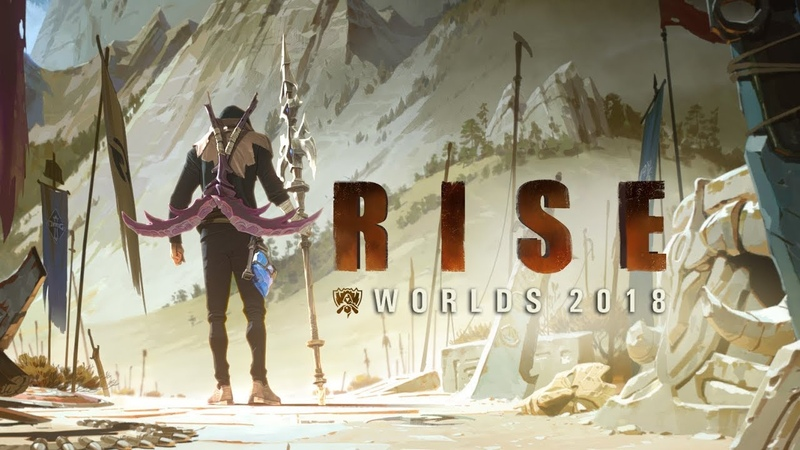 RISE (ft. The Glitch Mob, Mako, and The Word Alive)   Worlds 2018 - League of Legends