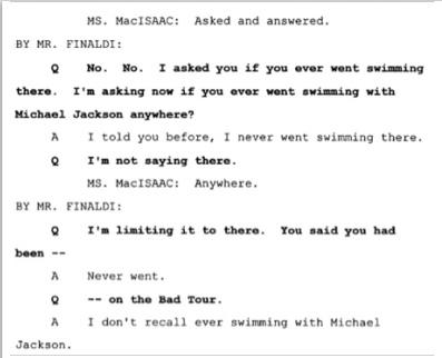 Показания Йоши Уейли, сына Джоли Левин (секретарь MJ)., изображение №27