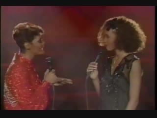 Whitney Houston & Dionne Warwick - You're A Friend Of Mine LIVE 1985