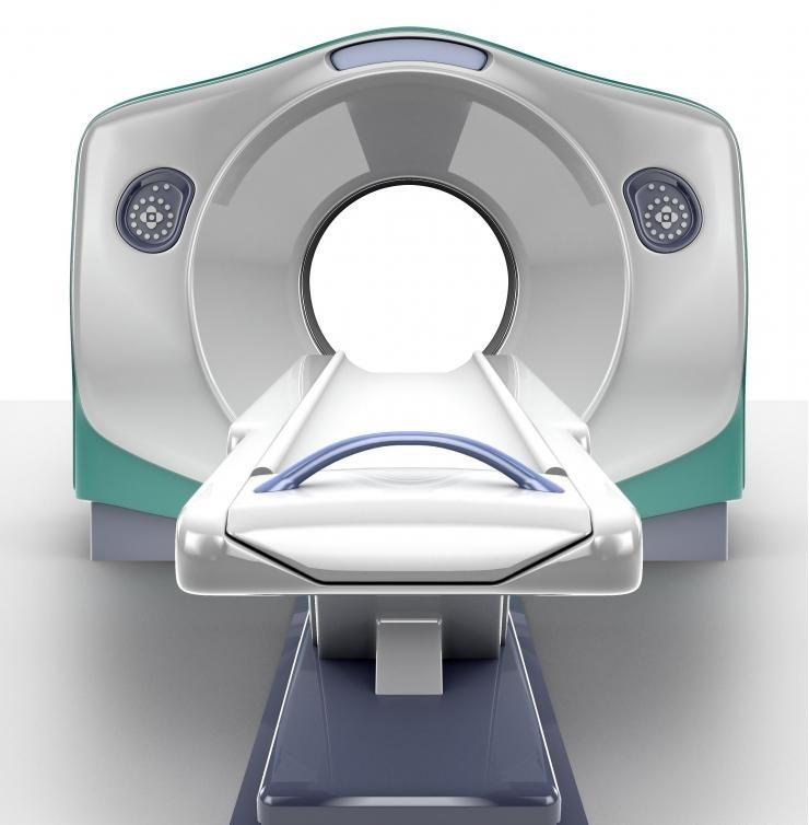 Сканер магнитно-резонансной томографии.