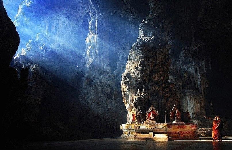Мьянма, пещера Datdawtaung