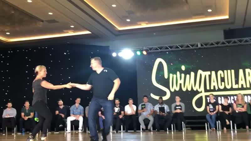 Swingtacular 2018 Champions JnJ Kyle Redd Tatiana Mollmann 1st Place 2nd so