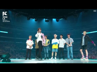 KCON LA 2018 PENTAGON - INTRO (feat Jun Curry), Shine, Talk, Beautiful, RUNAWAY 180812