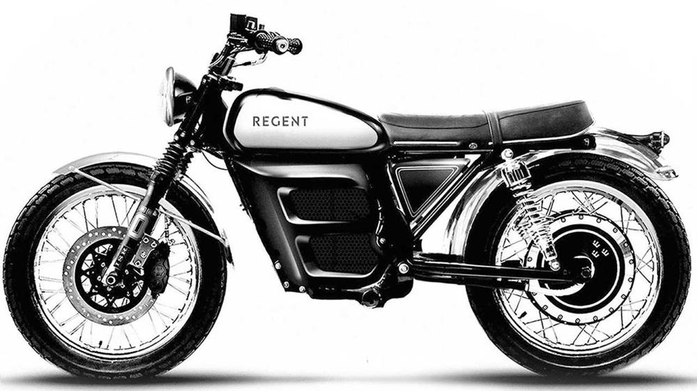 Электроцикл Regent No.1