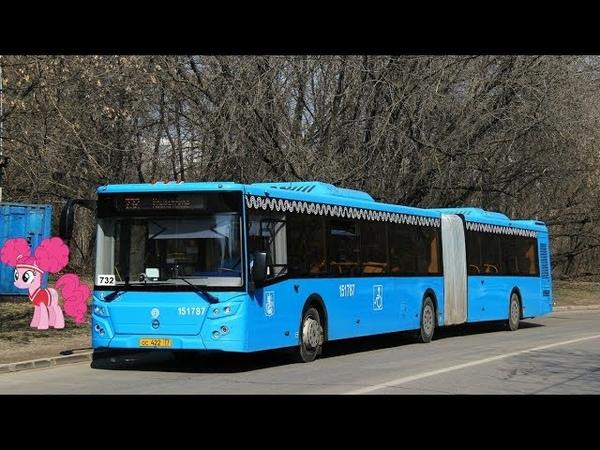 Поездка на автобусе ЛиАЗ-6213.65-77 № 151787 Маршрут № 908 Москва