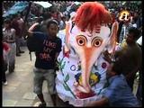 Indra Jatra festival celebrations