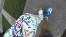 Leg cast crutch cam