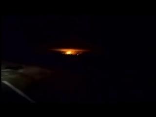 Вот это зарево! В Черниговской области горит склад с боеприпасами, 10 тысяч человек эвакуированы. Ничего нового, в общем -
