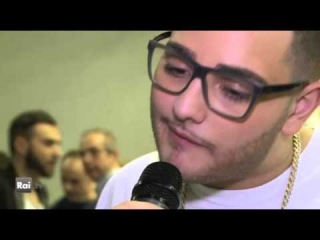 Intervista a Rocco Hunt - Nuove Proposte - Sanremo 2014
