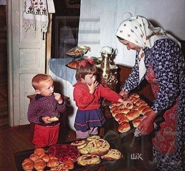 Лучшее детство было у нас с бабушкиными пирожками...