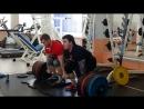 Парная тяга Дмитрий и Игорь 420 кг (ФК Нега ) 24.03.2018 г.