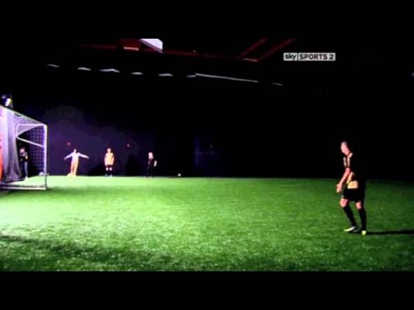 Cristiano Ronaldo scores in complete darkness (greatest goals)