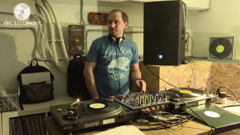 DJ ONEGIN VINYL TONARM DJ STUDIO LIVE MIX 03.03.2019