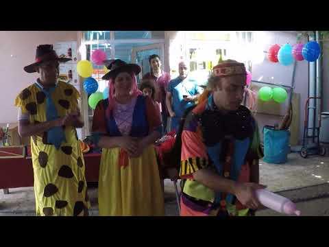 Pamuk prenses ve cadı kaynana olduk, palyaço ile eğlendik, Fun Kid Video