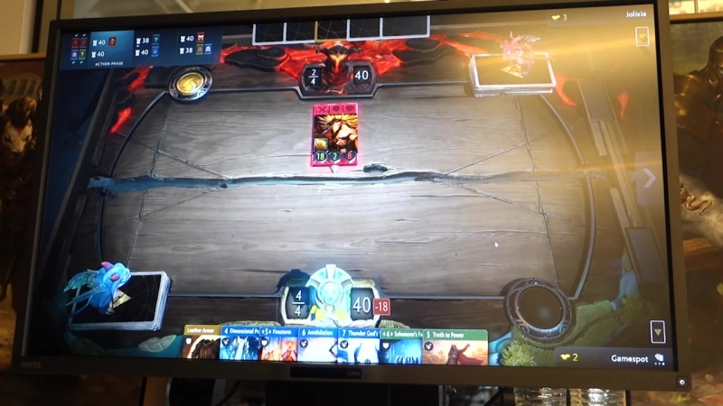 Artifact - 7 Minutes of Exclusive Gameplay Valves New Card Game