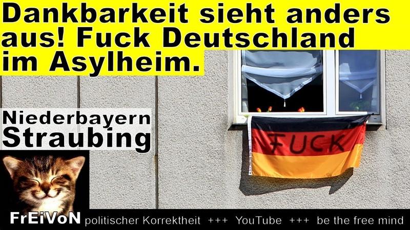 F_U_C_K Deutschland?! Dankbarkeit sieht anders aus * Straubing Niederbayern * HD