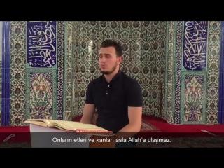 Osman Bostancı Çok Güzel Kur'an Tilaveti