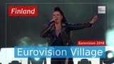 Saara Aalto (Finland) - Monsters (multilingual version, LIVE @ Eurovision Village) Eurovision 2018