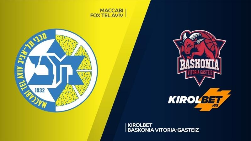 Maccabi FOX Tel Aviv KIROLBET Baskonia Vitoria Gasteiz Highlights EuroLeague RS Round 12