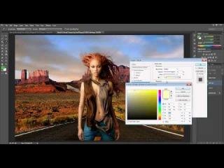 Vídeo Aula de Photoshop - Composição PARTE 2 (juntando as imagens) fabioKrieger