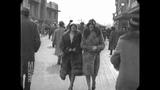 April 1928 - Strolling Down The Atlantic City Boardwalk, NJ (real sound)
