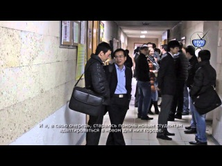 Interview of Chinese student in Admiral Makarov National University of Shipbuilding